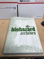 Resident Evil Biohazard Archives CAPCOM book rare