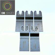 5 x Bosch Multi Attrezzo Lame Fein Multimaster 32mm Standard Legno Plastc