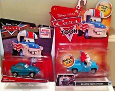 Disney Pixar Cars Toons Mater The Greater Diecast Tall Tales series RARE NEW