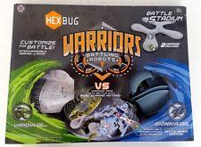 HEXBUG Guerriers Battling Robots vs Battle Stadium 2 guerriers inclus