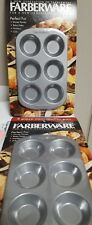 Farberware Bakeware - 6-Cup Non-Stick Mini Muffin Pan SET OF FOUR  - Brand NEW *