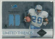 2004 LEAF LIMITED THREADS BARRY SANDERS JERSEY 02/75!!