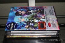 Sword Art Online II 2 Set 1 (LIMITED EDITION w/ Card) Anime Blu-ray R1 Aniplex