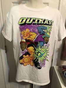 outkast shirt mens size M EUC Hip Hop Wu Tang Clan Tupac Biggie Smalls Pimp C