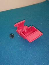 (B35) Intérieur rouge + volant, Renault 12 Dinky toys de réf 1424