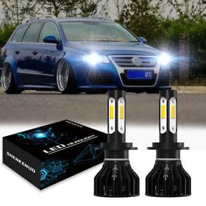 2x LED LAMPEN H7 Auto Light ABBLENDLICHT 6000K VS Xenon für VW Passat 362 3B