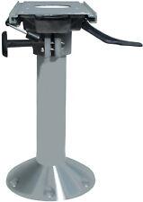 Bootsstuhlfuß Ø229mm  400mm hoch mit Schlitten drehbar für Bootssitz Steuerstuhl