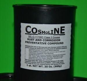 COSMOLINE SCHMOO 1 Qt .MIL-C-11796C Class 3 Grease 14-C-349-880. 35 Oz. CAN