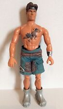 MATTEL MAX STEEL Action Figure Doll 1998/1999 Tiger Tattoo Shorts, Boots Boy Toy