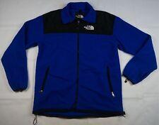 Rare VTG THE NORTH FACE Spell Out GoreTex Denali Fleece Jacket 90s TNF Blue XL