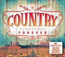 60 Great Country Hits * 70's 80's 90's * New 3-Cd Boxset * All Original Hits