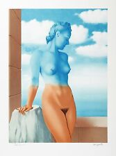 René Magritte - Black Magic (signed & numbered lithograph)