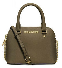 Michael Kors Cindy Mini Crossbody Bag Satchel Extra Small XS Saffiano Leather