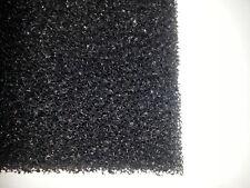 Schaumstoffmatte 2Stück Filtermatte schwarz 50x50x3 grob 10ppi Filterschaumstoff