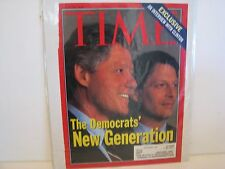 President Bill Clinton  Time Magazine  AUTOGRAPHED    AUTOPEN? SIGNED TWO TIMES