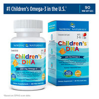 Nordic Naturals Children's DHA - Cognitive Development & Immune Health, 90 Ct