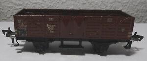 Fleischmann Essen 1205 - offener Güterwagen - Made in US Zone Germany DR Spur HO