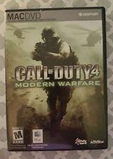 Call of Duty 4 Modern Warfare Mac New Sealed