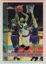 1997-98 TOPPS CHROME REFRACTOR: SHAREEF ABDUR-RAHIM #94 GRIZZLIES/HAWKS ALL-STAR