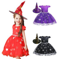 Medieval Witches Fancy Dress Costume Cap Halloween Party Cosplay Witch Hat Props