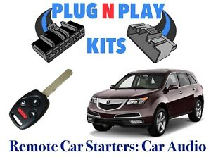 2007 - 2013 ACURA MDX PLUG & PLAY REMOTE START CAR STARTER USES OEM REMOTE
