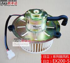 1PCS Blower Motor 24V Fits For Hitachi Excavator EX200-5 EX200-3 ZAX240 #QF11 ZX