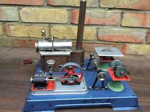 WILESCO D10 Model Steam Engine PLUS Accessories Burner # TM