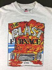 "True Vintage 1992 Pittsburgh Three Rivers Stadium ""The Blast Furnace"" T-Shirt L"