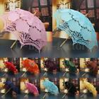 Lace Cotton Embroidery Wedding Umbrella Bridal Parasol Photo Props NEW