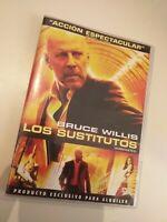 Dvd  LOS SUSTITUTOS con bruce willis