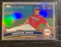 Chipper Jones Refractor 2011 Topps Chrome #2 Atlanta Braves