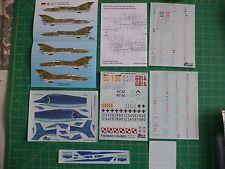 Mig 21 MF Fishbed Polish AF and German AF decals set -- Tiger Wings 32-120