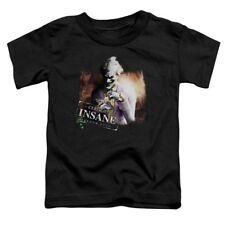 Batman Arkham City Joker CERTIFIED INSANE Licensed Adult T-Shirt Men's Large