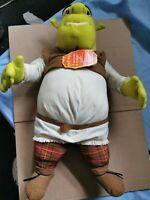 "Hasbro Talking SHREK - LARGE 20"" SOFT TOY Sound Wise Cracking Shrek Interactive"