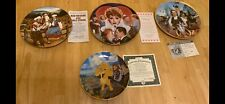 Collector Plates Lion King Wizard of Oz Lucy Roy Rogers Dale Evans