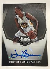 2015-16 TOTALLY CERTIFIED Harrison Barnes Signature Golden State Warriors 14/25