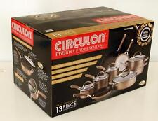 CIRCULON 13 PC COOKWARE PREMIER PROFESSIONAL HARD ANODIZED NON STICK DUPONT NSW