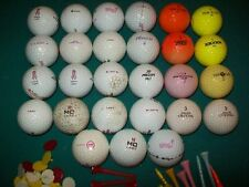 Lot of 27 Used Lady Golf Balls Uncleaned good ball Ladies Women womens girls