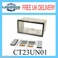 Ct23un01 103mm Universal Doble Din Panel Facia Adaptador Panel estéreo envolvente