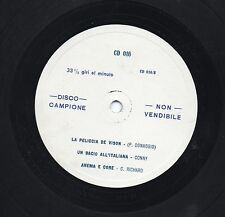 PINO DONAGGIO CLIFF RICHARD TONY RENIS disco LP 33 giri PROMO Made in ITALY 1962