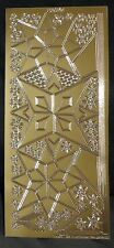 BN - CRAFTS - PEEL OFF STICKERS - MEDALLIONS - GOLD - STYLE 1