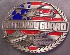 Military Belt Buckle metal U S Army National Guard NEW