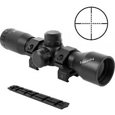 Aim Sports 4X32 Compact Tactical Mil-Dot Scope w/  Remington 870  Base & Rings