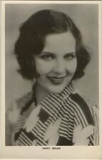 Mary Brian 1930s Real Photo Blank Back Postcard Photo Card Movie Star RPPC