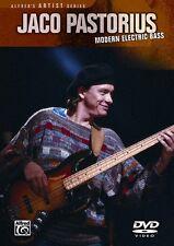JACO PASTORIUS - MODERN ELECTRIC BASS GUITAR NEW DVD