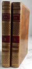 1810 LETTRES A SOPHIE E.O PAR L.A. MARTIN 2TOMES CHEZ H.NICOLLE TR.JASPEES B.E