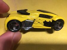 Mattel Hot Wheels 2004 'Phantom Racer' Black & Yellow Colourway
