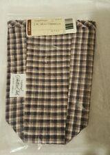 Longaberger~ Jw Plaid Liner for Collector's Club J.W. Mini Umbrella Basket Nip