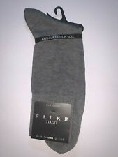 Falke Tiago Fil D'ecosse Light Greymel Socks Size 10-11