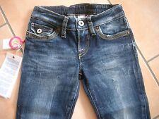 (C226) Nolita Pocket Girls used look Jeans Hose Knopftasche Stickerei gr.116